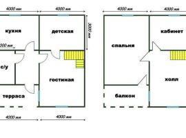 Проект дома №476