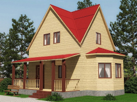 Проект дома №477