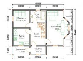 Проект дома №479