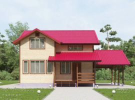 Проект дома №134