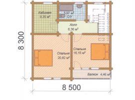 Проект дома №523