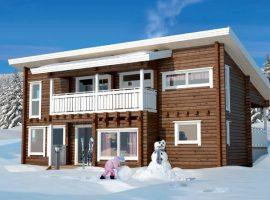 Проект дома №527