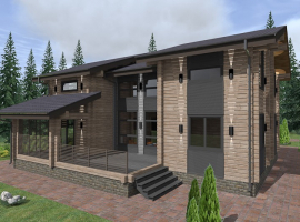 Проект дома №291