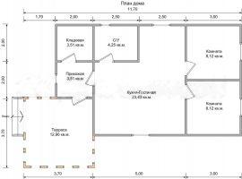 Проект дома №299