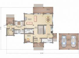 Проект дома №391