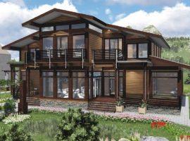 Проект дома №392