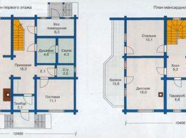 Проект дома №213