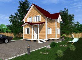 Проект дома №84