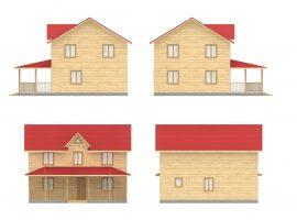 Проект дома №190