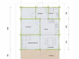 Проект дома №69