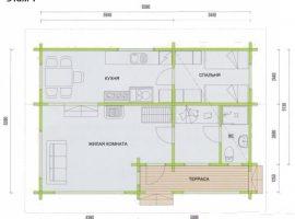 Проект дома №70