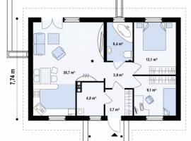 Проект дома №162