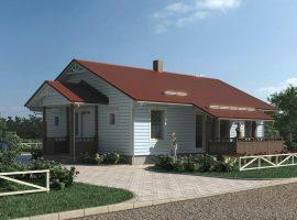 Проект дома №206