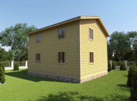 Проект дома №208