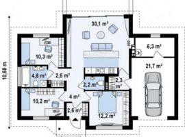 Проект дома №258