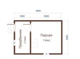 Проект бани-23