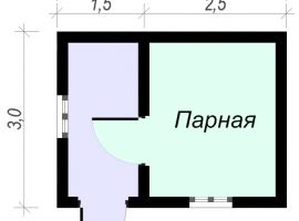 Проект бани-26