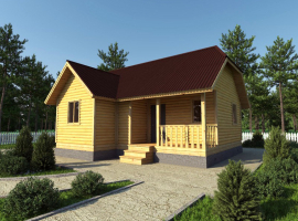Проект дома №183