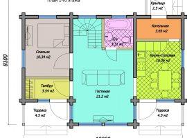 Проект дома №118