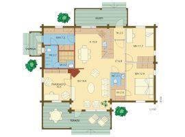 Проект дома №216