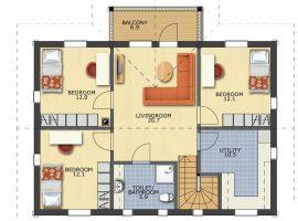 Проект дома №166