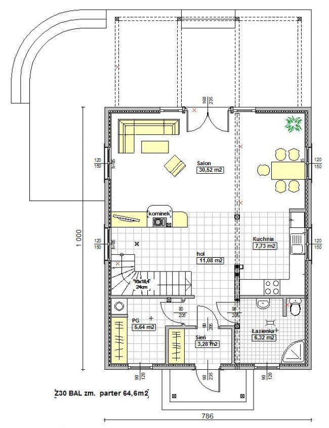 Проект дома №153