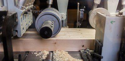 производство бруса на заводе